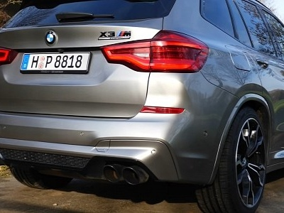 BK Performance BMW X3 M Competition Flexes 757 PS During Top Speed Run