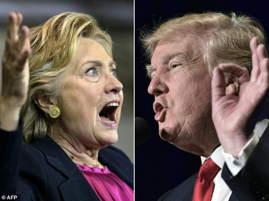 Under pressure, Trump turns attention back to Clinton