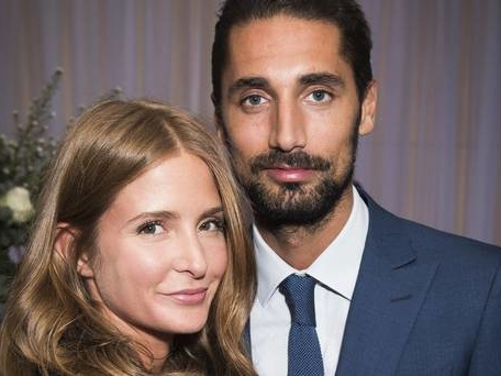 Millie Mackintosh shows off her engagement ring on Instagram