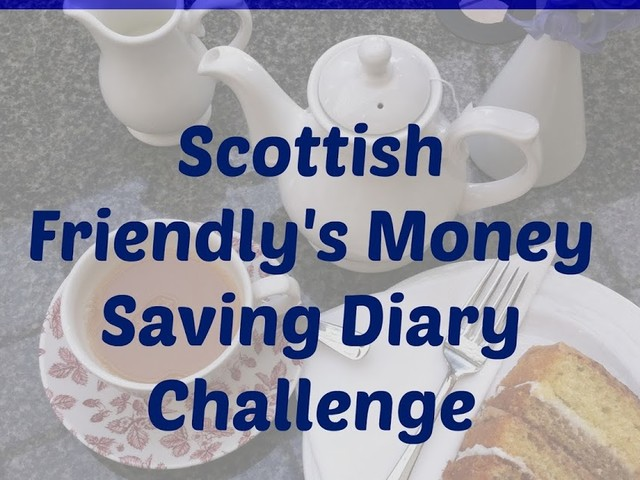 Scottish Friendly's Money Saving Diary Challenge