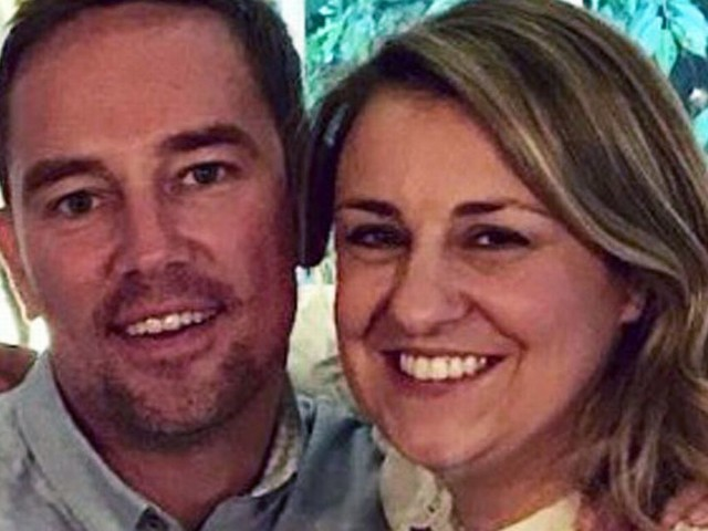 Sky presenter Simon Thomas posts heartbreaking Tweet on the day he 'says goodbye' to his beloved wife