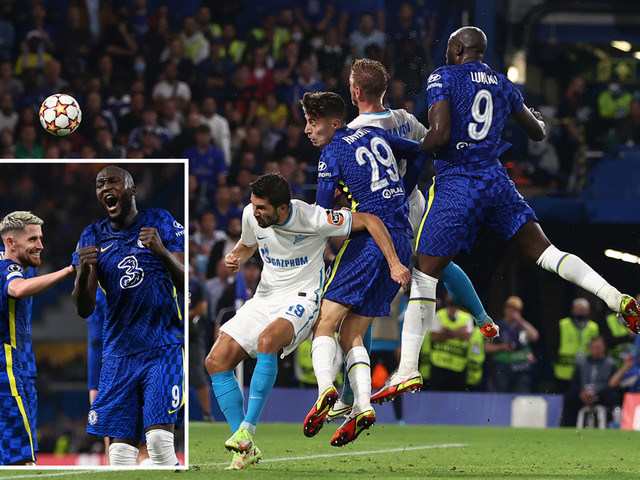 Chelsea 1 Zenit 0: Romelu Lukaku grabs first Blues Champions League goal as Tuchel's side make winning start to defence