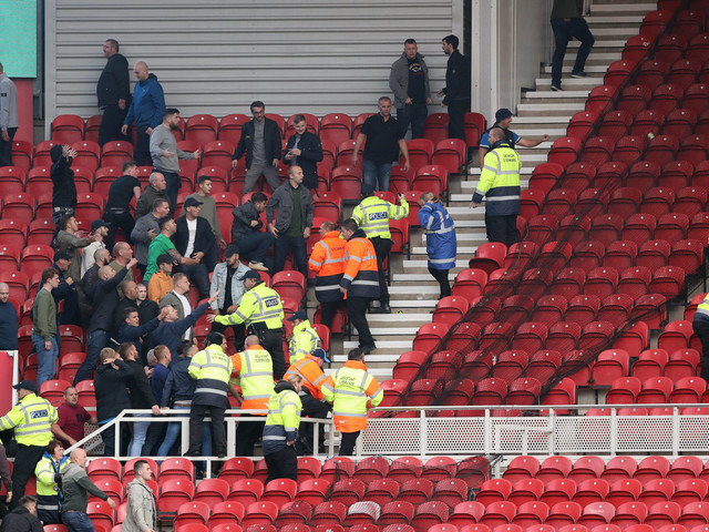 Middlesbrough V Sheffield United Sees Children As Young As 10 Injured In Brawl