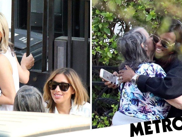 Nicole Appleton appears worry-free as she reunites with All Saints bandmates amid Lily Allen drama