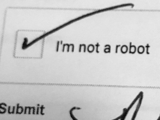 Dealership Prints Out Captcha to Prove Customer Isn't a Robot