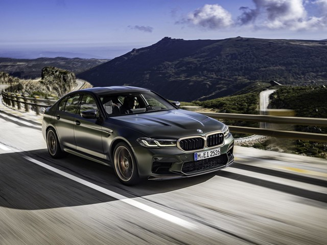 Top Gear Reviews the BMW M5 CS — Best M5 Ever?
