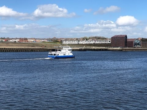 Watch: Shields Ferry ready to welcome passengers back safely