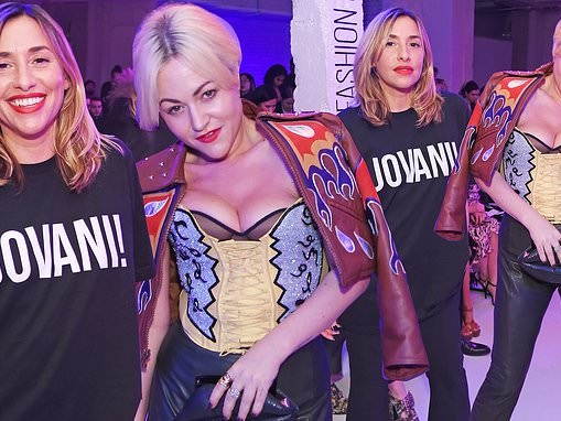 Jaime Winstone and Melanie Blatt wow at glitzy Pam Hogg LFW show