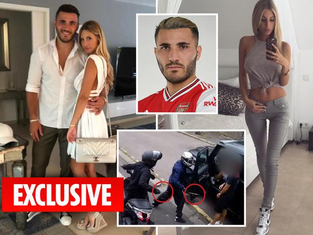 Arsenal star Sead Kolasinac's wife Bella held by police at airport after bringing stun gun into UK