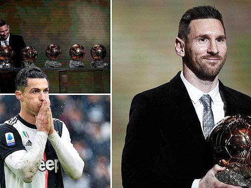 Lionel Messi wins record sixth Ballon d'Or as he edges out Liverpool's Virgil van Dijk