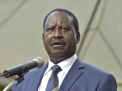 Kenya's Odinga rejects 'sham' election, pledges to fight on