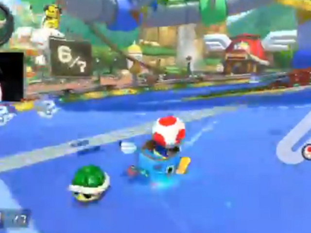 This is the most savage 'Mario Kart' move I've ever seen