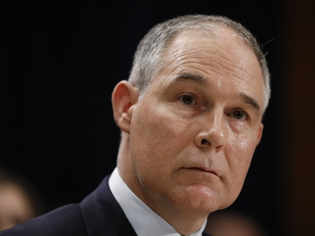 EPA administrator Scott Pruitt continues to be terrible at his job