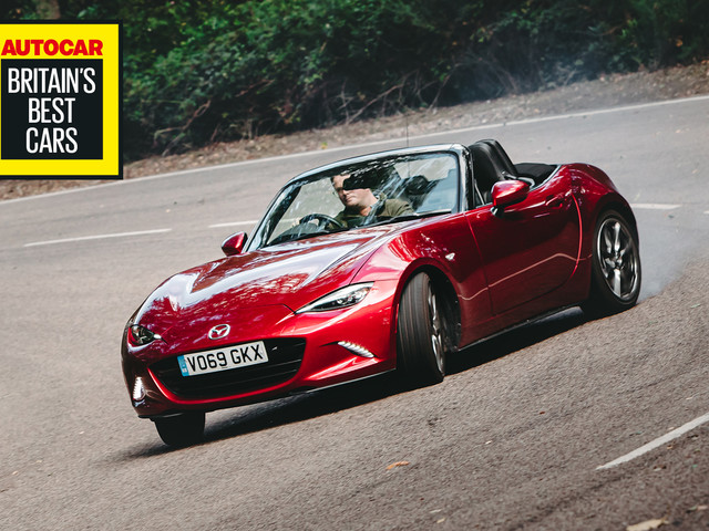 Britain's Best Fun Car 2020: Mazda MX-5