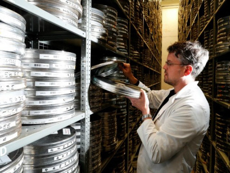 Hidden film treasures brought to life in British vault