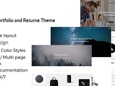 Lifan - Personal Resume and Portfolio WordPress Theme (Portfolio)