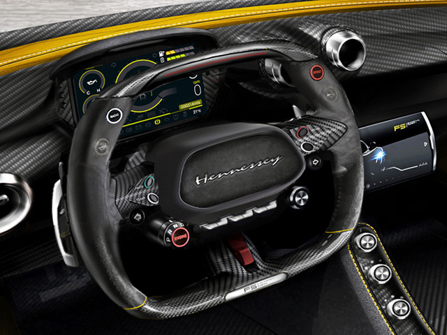 Check out the First Photos of the Hennessey Venom F5's Interior