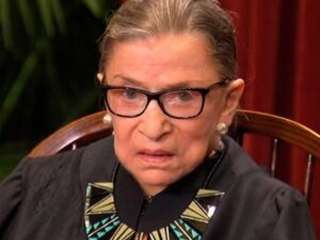 Justice Ginsburg treated for malignant tumor