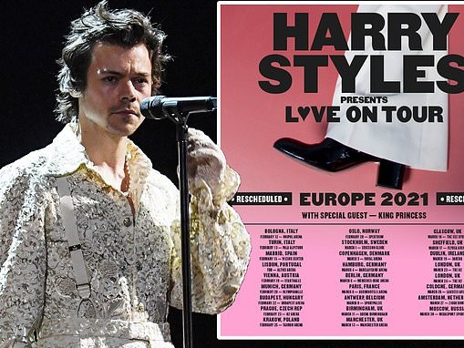 Harry Styles reveals he is 'stuck' in California due to COVID-19