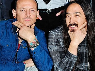 Steve Aoki Honors Chester Bennington With Linkin Park Mash-Up, 'Darker Than The Light That Never Bleeds'