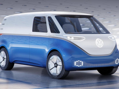 Volkswagen Commercial Vehicles unveils 5 battery-electric and fuel cell vehicles; I.D. BUZZ CARGO