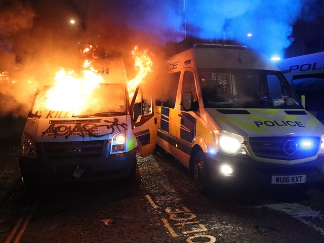 Man charged with attempted arson following Kill the Bill protest in Bristol