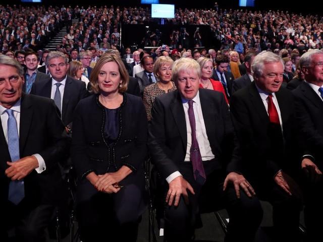 Tories at war as Brexiteers demand May sacks Hammond