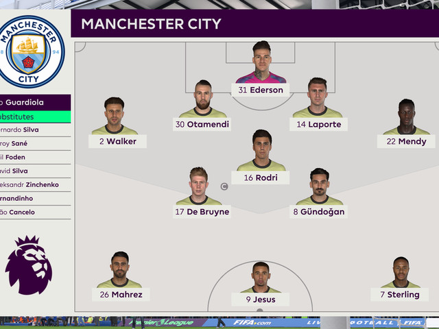 We simulated Chelsea vs Man City on FIFA 20 to see what might happen