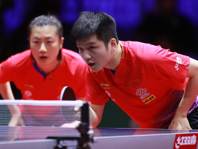 Top singles seeds Fan and Ding reach mixed doubles main draw at ITTF World Championships