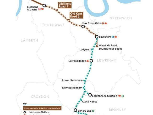 Bakerloo line extension seeks to go beyond Lewisham