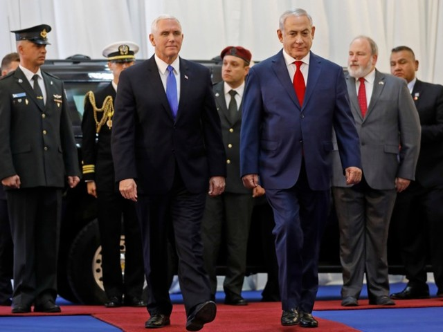 Pence's Visit to the Middle East Is Starting to Look Like a Farewell Tour to Israeli-Palestinian Peace