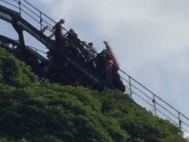 Alton Towers: Passengers Escorted Off 'Oblivion' After Roller Coaster Stops At Highest Point
