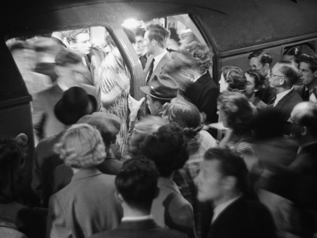 6 Amazing Images Of The Tube Over 6 Decades