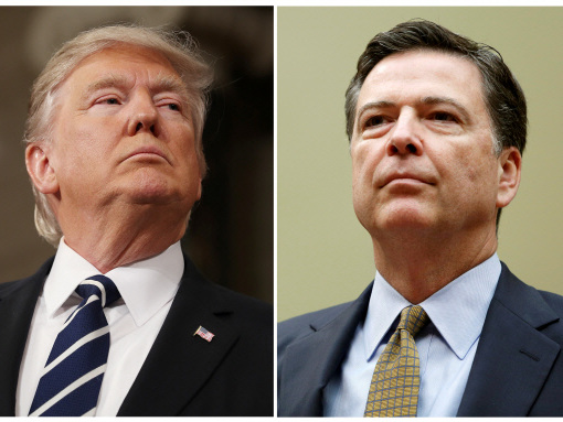 Trump will not block ex-FBI director's testimony