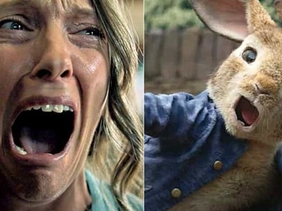 Hereditary trailer accidentally gets played before Peter Rabbit in a Australian theatre; see the latest Hereditary teaser