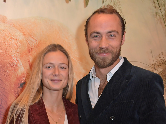 James Middleton & Fiancee Alizee Thevenet Make Their Red Carpet Debut as Engaged Couple!