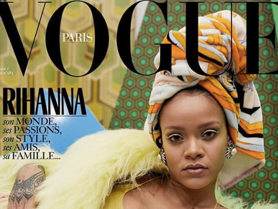 Triple Trouble! Rihanna Shares Three Stunning 'Vogue' Covers