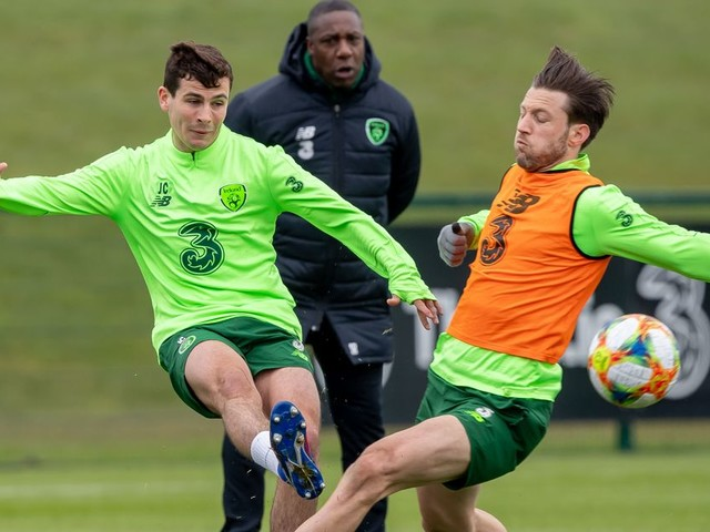 Josh Cullen wishes Declan Rice well - but insists he is committed to Ireland