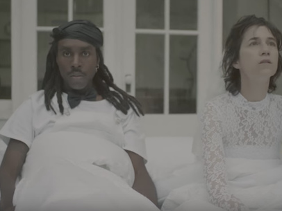 Dev Hynes stars in Charlotte Gainsbourg's 'Deadly Valentine' video