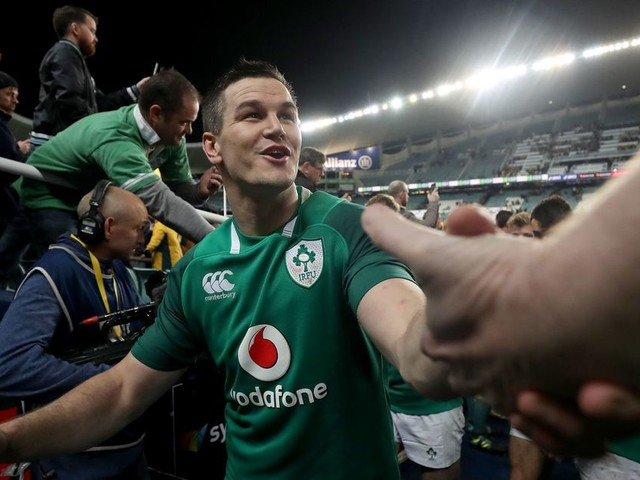 Ireland and Leinster star Johnny Sexton extends IRFU contract until 2021