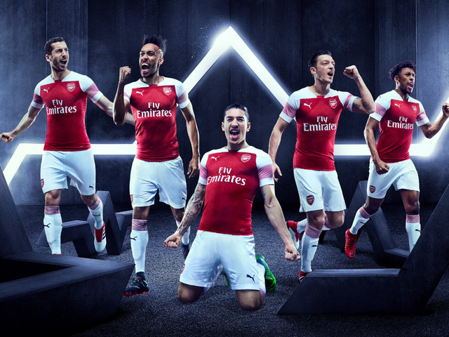 Modern Football Is Rubbish: Arsenal Proudly Reveal Their First Ever Sleeve Sponsor – The Rwanda Development Board (Photo)