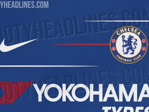 Kit leak: Nike 2018-19 Chelsea home shirt set to have more red-colored accents