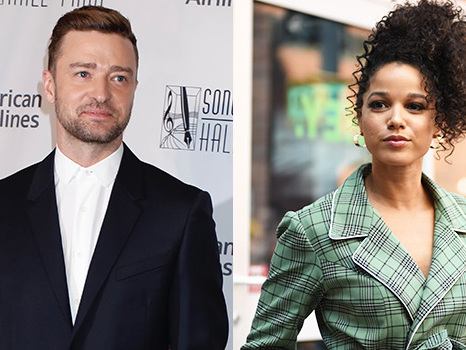 Justin Timberlake & Alisha Wainwright Spotted In Same Trailer On Movie Set After Holding Hands