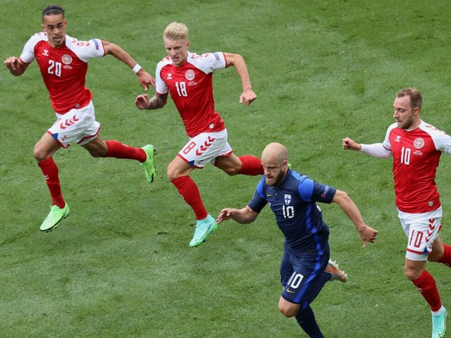 Denmark vs Finland postponed after CPR administered to Christian Eriksen