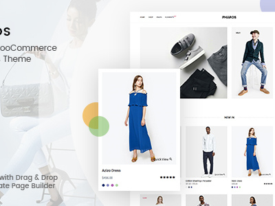 Pharos - Minimalist, Clean and Simple WooCommerce Theme (WooCommerce)