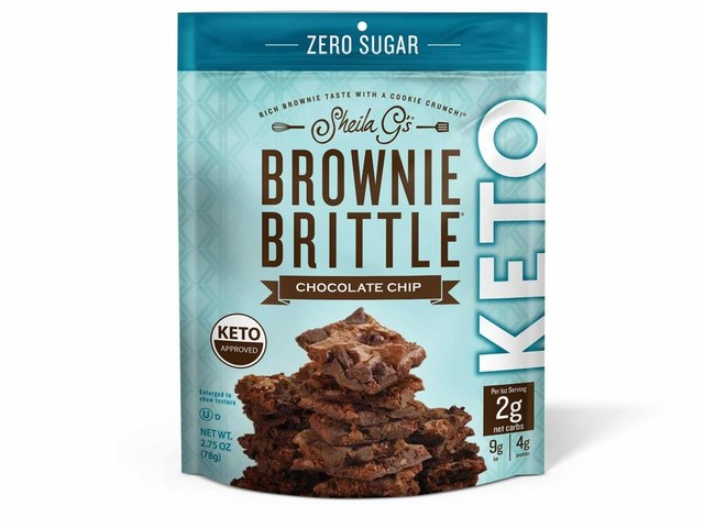 Keto-Friendly Brittle Snacks - Sheila G's Chocolate Brownie Brittle is Crispy & Low in Net Carbs (TrendHunter.com)