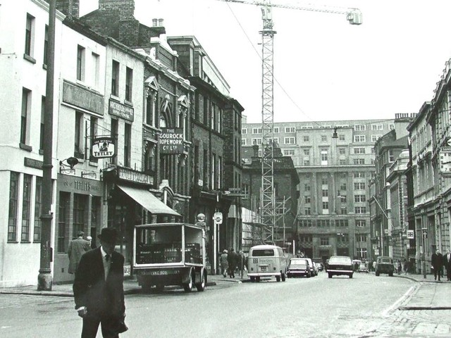 Transformation of Old Hall Street in pictures from then to now