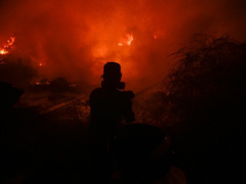 Six killed in Spain, Portugal as wildfires fanned by hurricane (Updated)