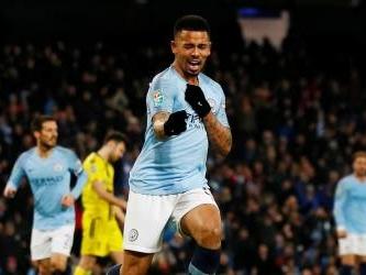 Man City hit nine past Burton to cruise towards League Cup final