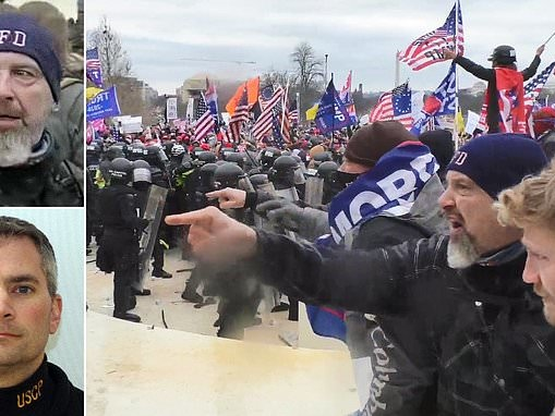 New video shows MAGA rioter the FBI wants to question over the murder of Capitol cop Brian Sicknick